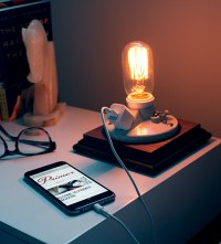 Make This Super Simple DIY Side Table Lamp with Phone ...