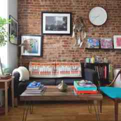 Living Room End Table Decorating Ideas Modern Tv Wall Units Apartment Ideas: A Brooklyn Bedroom
