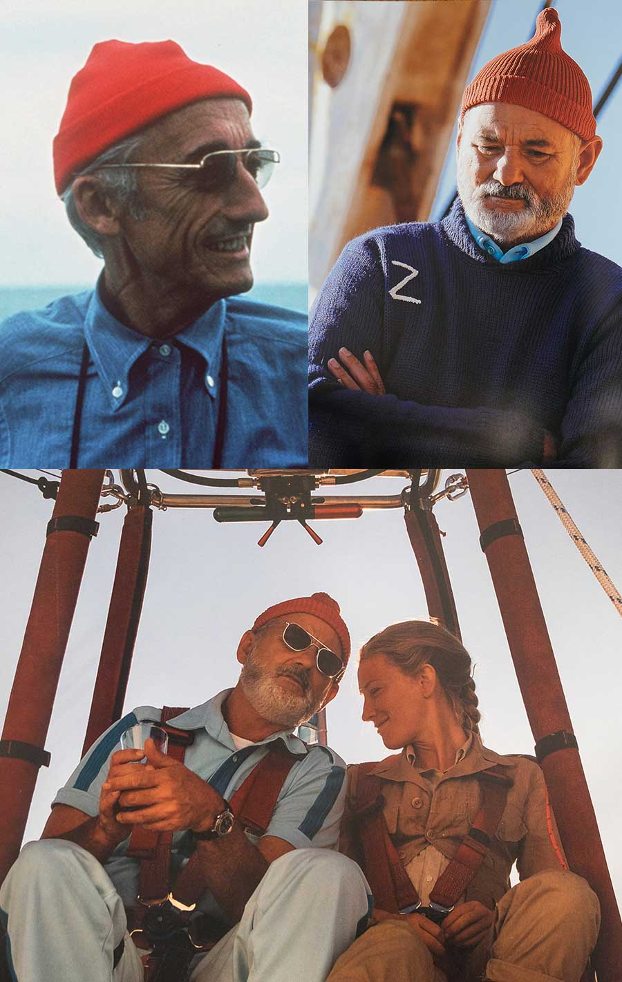 The Life Aquatic with Steve Zissou Menswear at the Movies  Primer