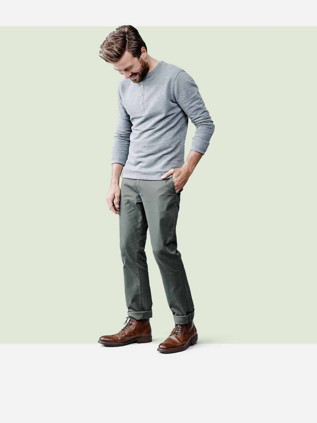 Target's New Men's Line Goodfellow & Co Fitting Room