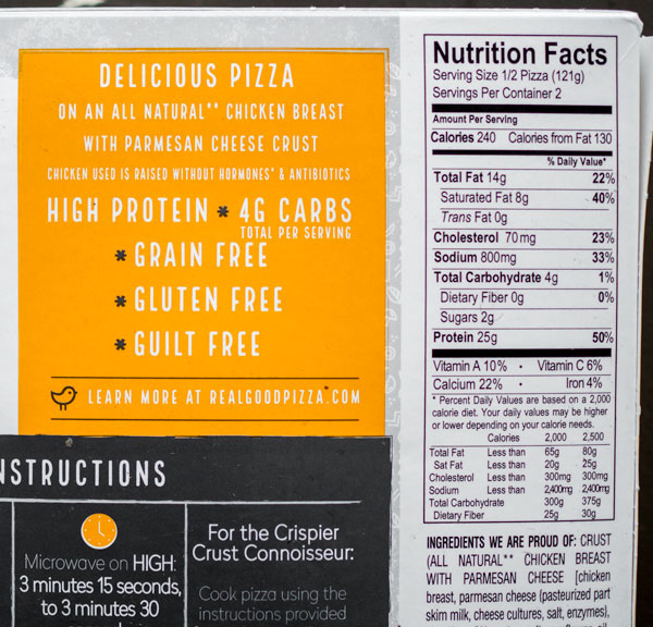 This Frozen Pizza Only Has 8g Carbs Because The Crust Is
