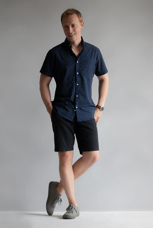 3 Short Sleeve Button-Ups That Inspire Confidence And Keep You Dry…Just In Time For Summer