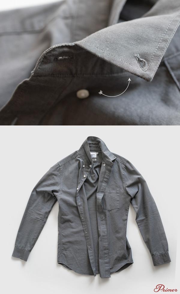 unbutton shirts before wash