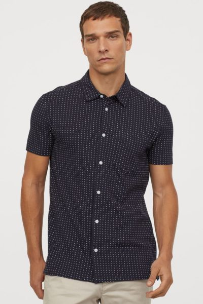 h&m-muscle-fit-pique-shirt-spring-casual-capsule