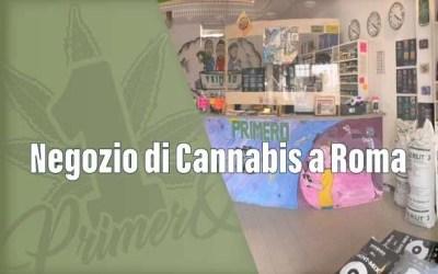 Negozio Cannabis a Roma