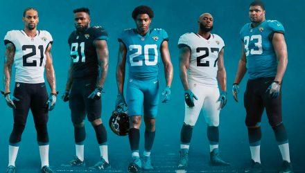 Jaguars uniforms