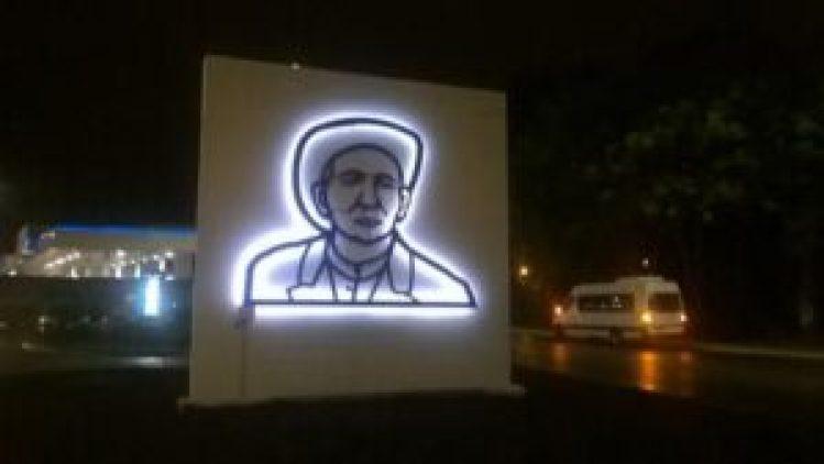 Alejandro Marmo, el artista favorito del Papa Francisco, fue quien construyó el mural a Brochero