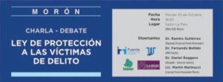 Invitación a la jornada sobre la Ley de Protección a las Victimas de Delitos