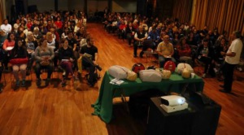 Al curso asistieron 200 personas vinculadas al campo del deporte, la educación y la seguridad
