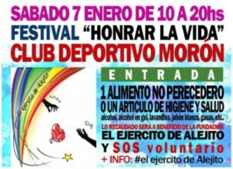 Jornada solidaria en Morón