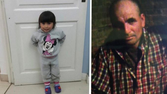 Nena secuestrada por su padre