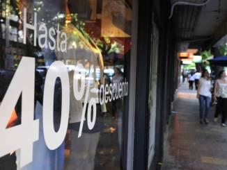 Caída en ventas minoristas