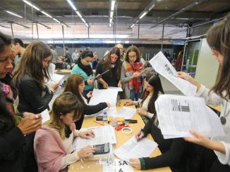 Recuento de votos en La Plata