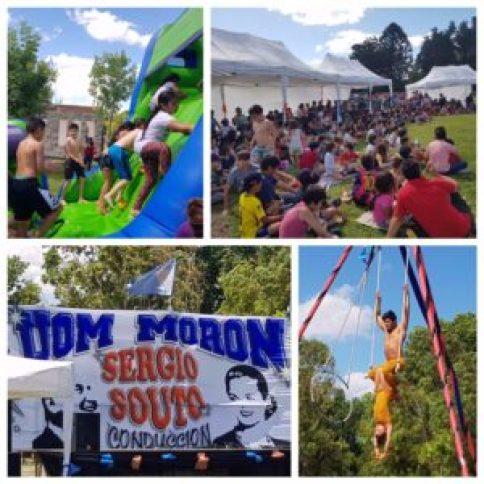 Juegos, espectáculos y una ronda de hambuerguesas. el plan perfecto de la jornada organizada por la UOM Morón para los chicos.