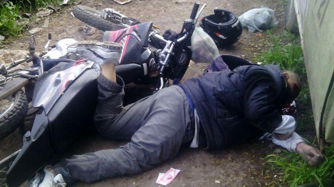 Delincuente muerto en Castelar