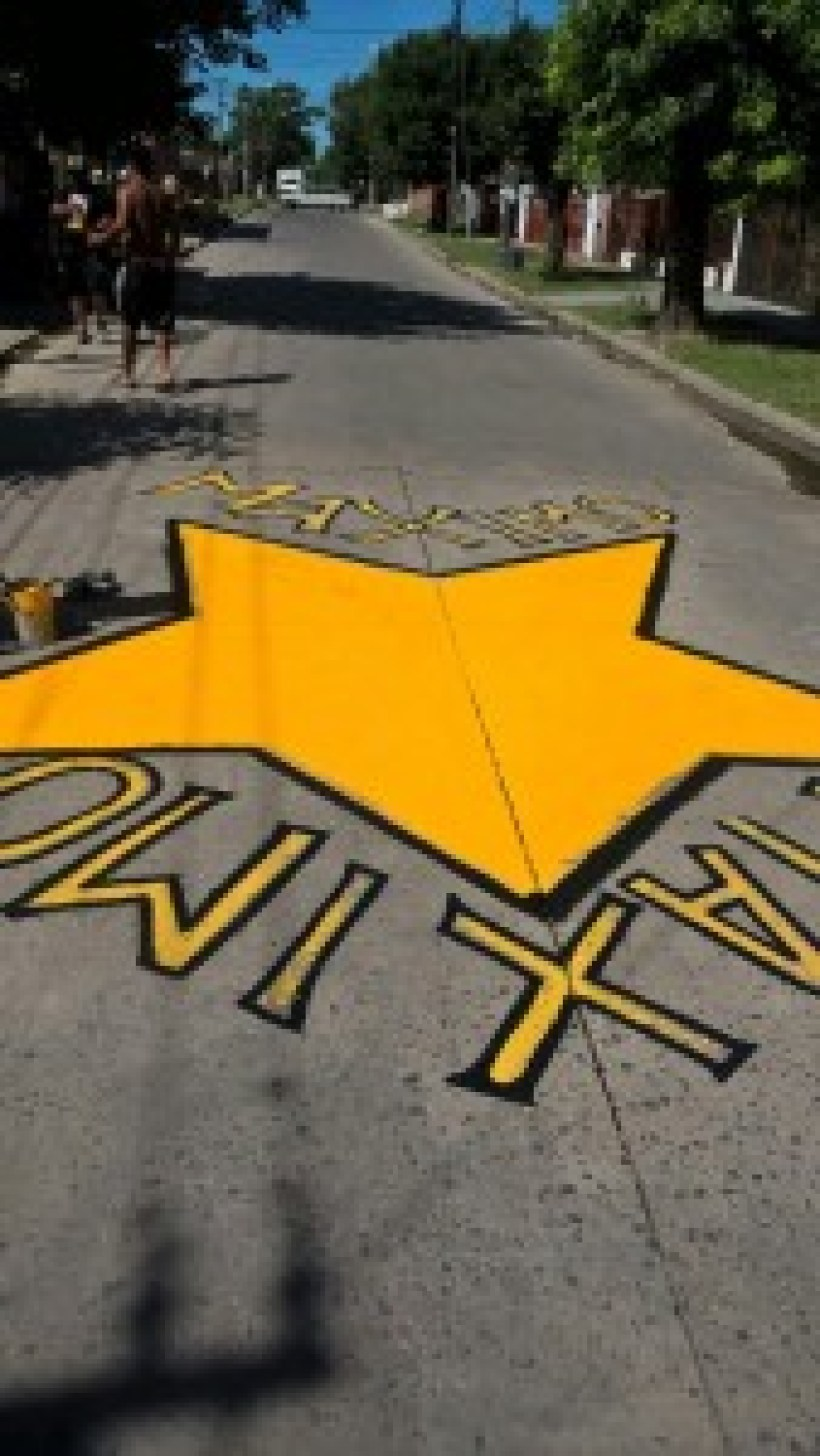 Estrella amarilla por Máximo