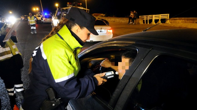 Alcohol cero al conducir