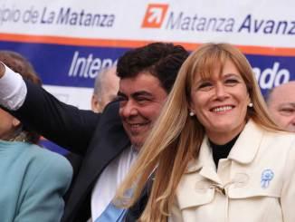 Magario y Espinoza visitaron a Sergio Massa en Tigre