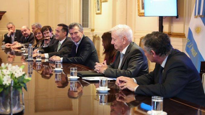 Rectores con Macri