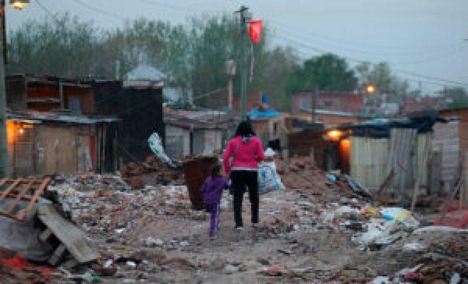 El primer cordón de La Matanza es el más golpeado y el que más asistencia estatal requiere en tiempos de crisis.