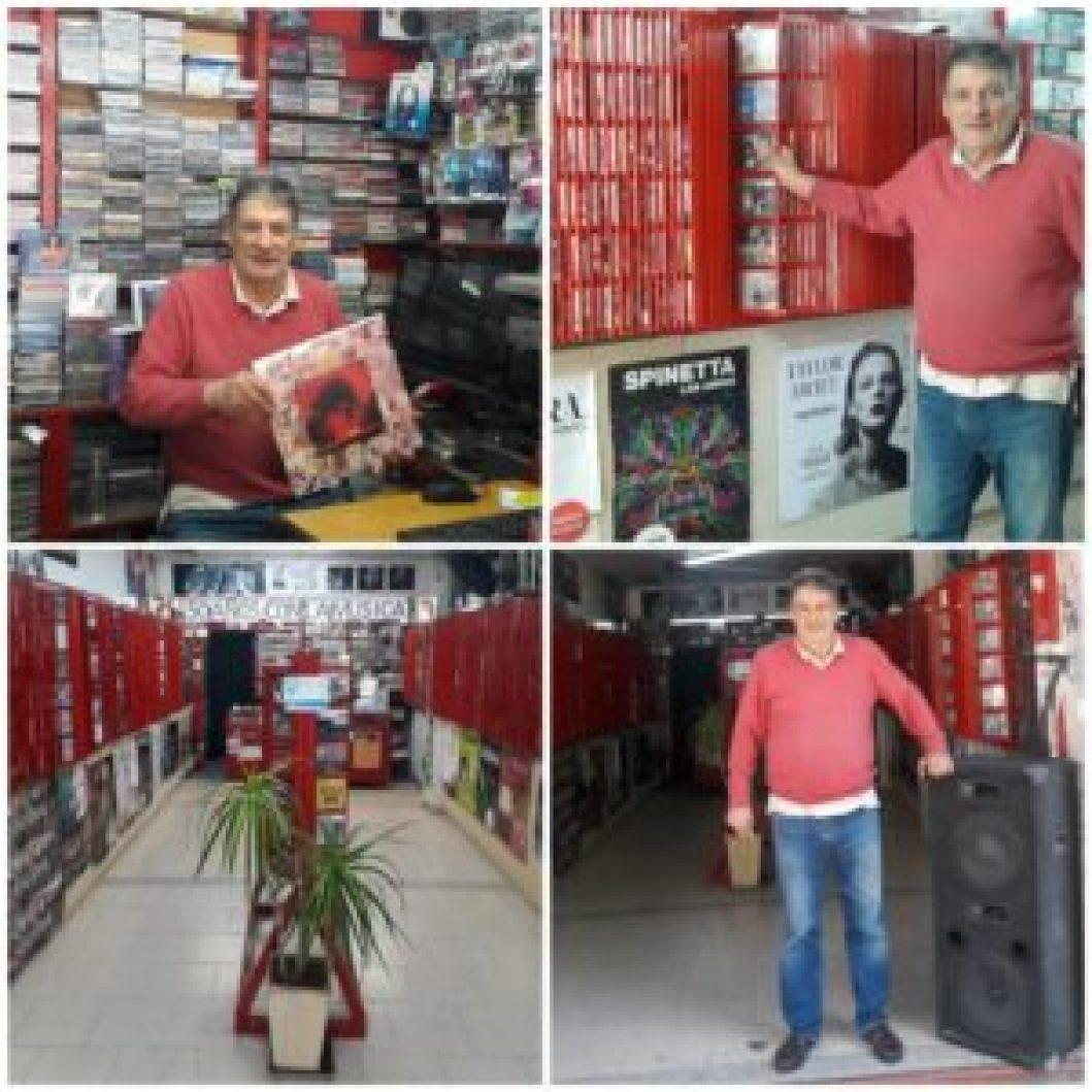 El surco loco: desde el LP hasta el CD, transcurrió 50 años musicalizando el centro comercial de Castelar