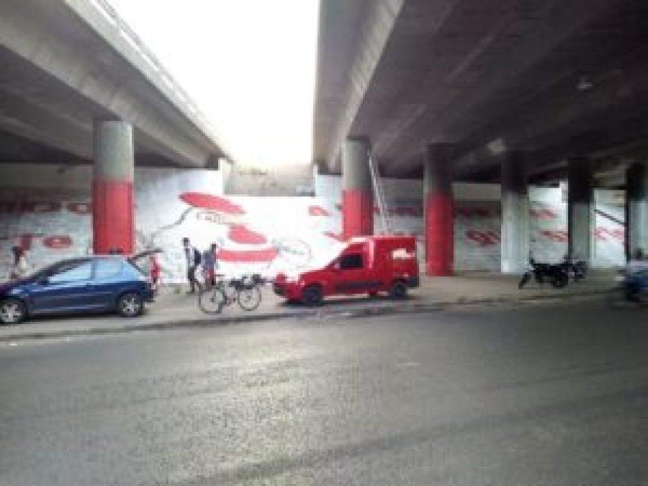 Mural 50 en Morón