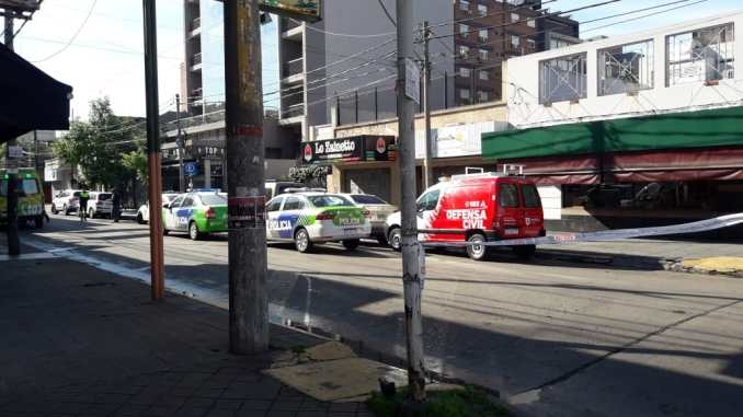 Intento de suicidio en Castelar