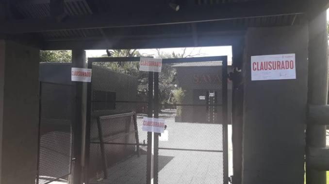 Clausura de boliche en Ituzaingó