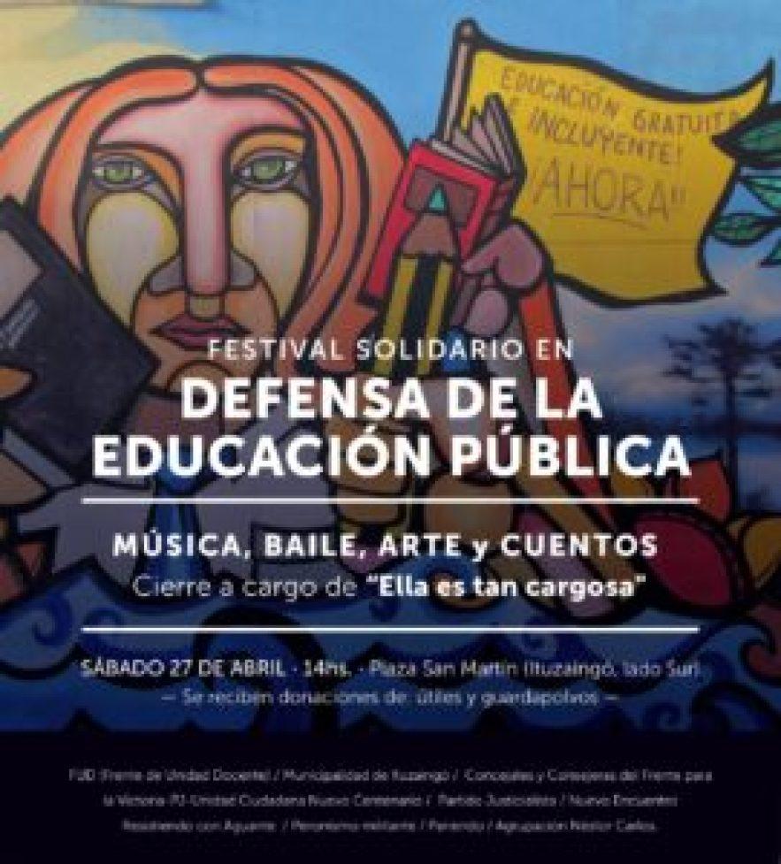 Festival por la Educación Pública
