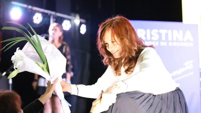 Acto de Cristina en la Feria del Libro