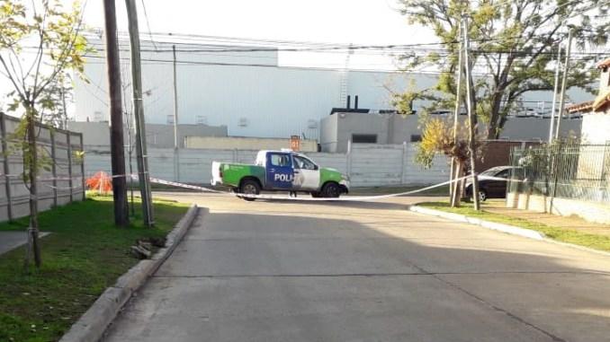 Gendarme asesinado en Moreno
