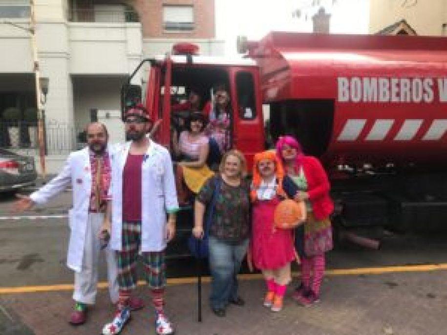 Vecinos solidarios en Ramos Mejía