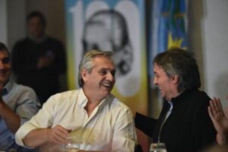 Alberto Fernández y Máximo Kirchner