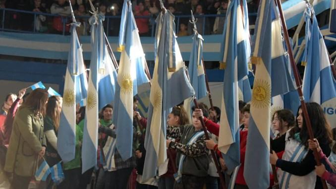Promesa a la Bandera en Ituzaingó