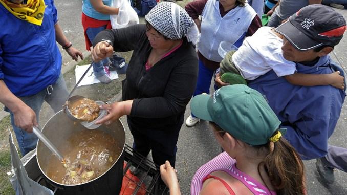 Comedores de Barrios de Pie