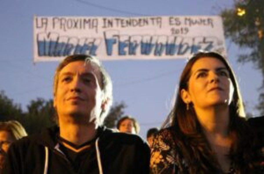 Mariel Fernández y Máximo Kirchner
