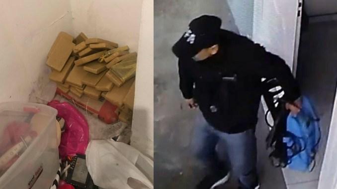 Pareja de peruanos detenida