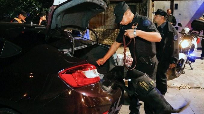 Operativos de seguridad en Morón
