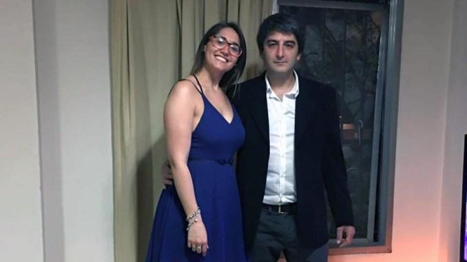 Virginia Tueso y Diego Roda