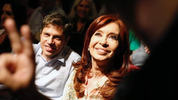 Cristina y Kicillof