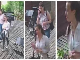 Vestidas para...robar: camufladas bajo una impecable apariencia, así ingresaban al restaurante las delincuentes