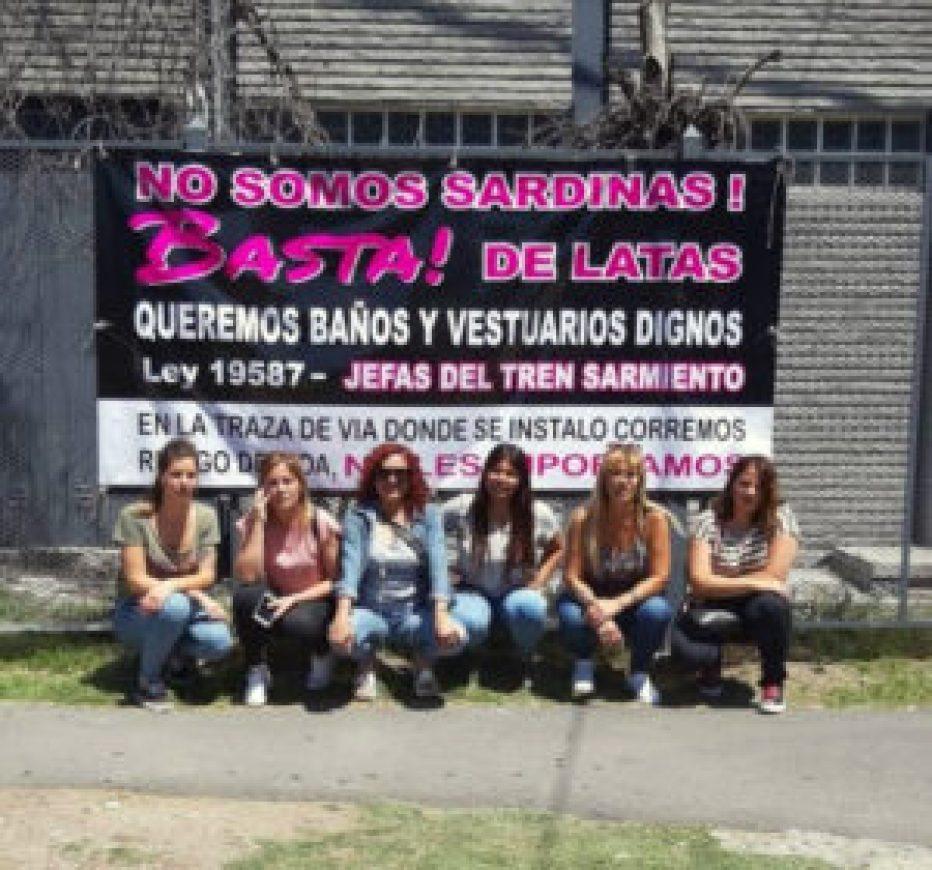 Mujeres guardas del Sarmiento