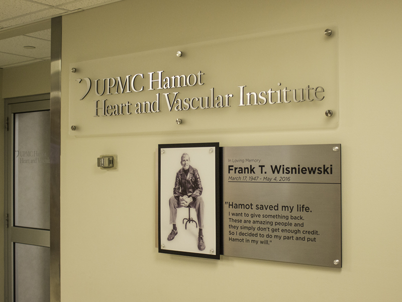Donor Recognition Signs  PRIME Sign Program