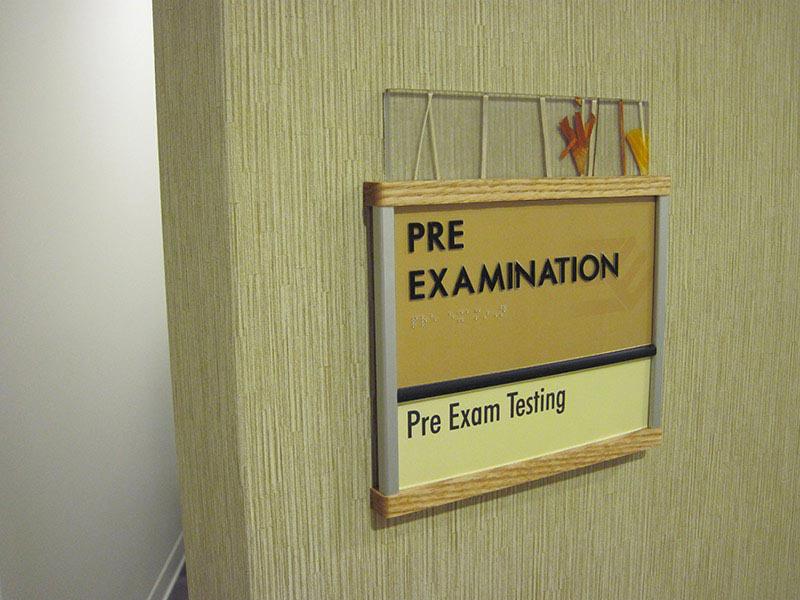 Interior Room Identification Signage PRIME Sign Program