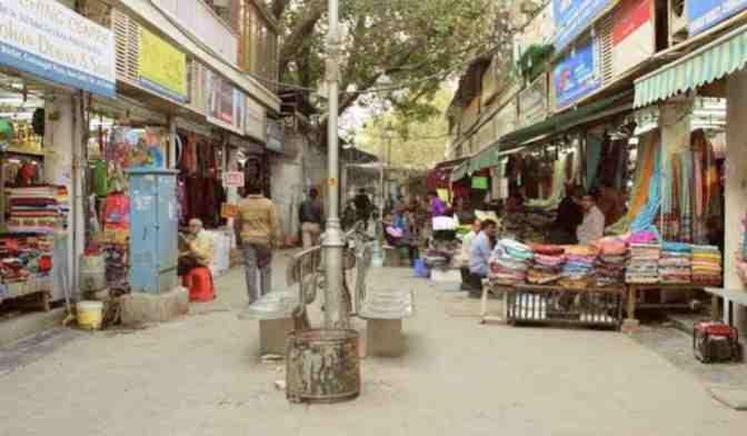 Shankar Market In Delhi