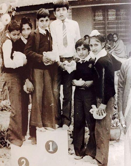 Sonu Sood in his school days
