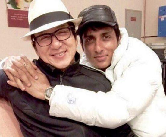Sonu Sood With Jackie Chan