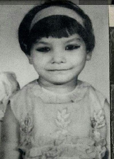 Sunita Rajwar in childhood