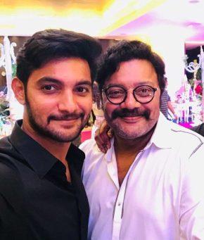 Aditya Pudipeddi Aadi With His Father