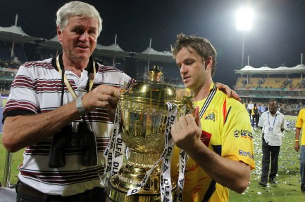Albie Morkel With His Father